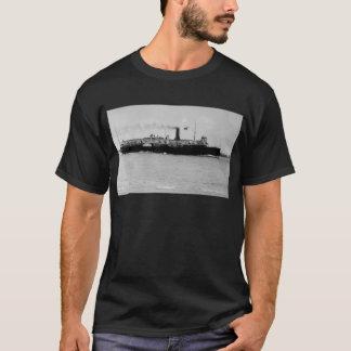 Steamer Alpena on St. Clair River by Louis Pesha T-Shirt
