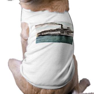 Steamer Americana, Crystal Beach Line Shirt