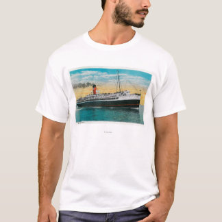"Steamer ""Avalon"" at Santa Catalina Island T-Shirt"