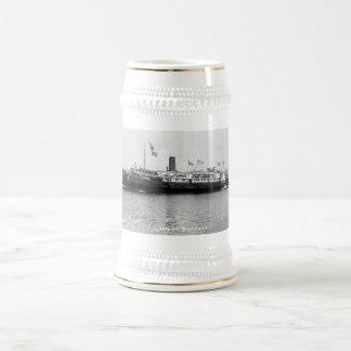 Steamer City of Buffalo - Louis Pesha Photo Beer Stein