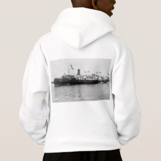 Steamer City of Buffalo Vintage Great Lakes Ship Hoodie