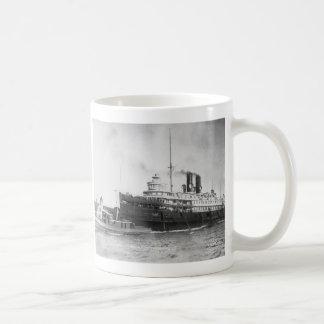Steamer City of Cleveland Classic White Coffee Mug