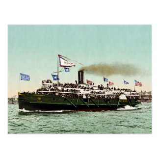 Steamer City of Erie 1900 Post Card