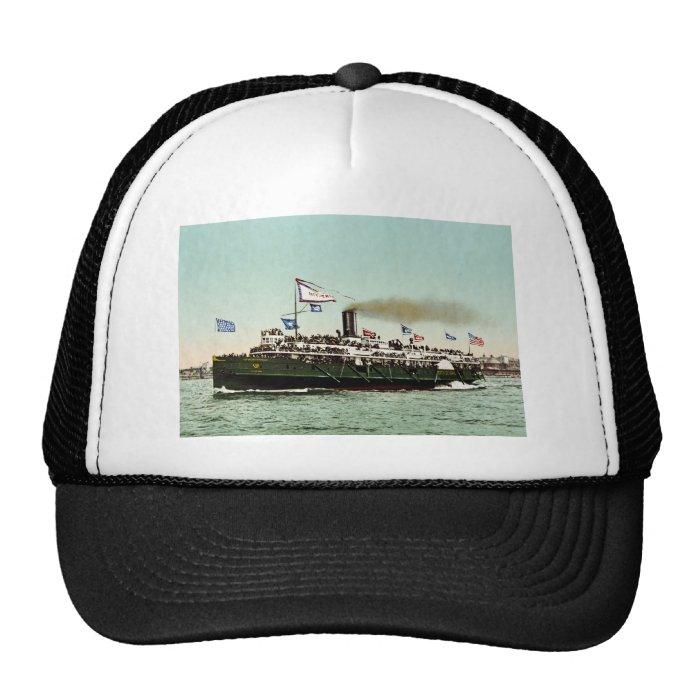 """Steamer """"City of Erie"""" 1900 Trucker Hat"""