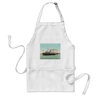 Steamer City of Erie Cleveland and Buffalo Line Adult Apron