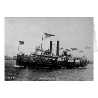 Steamer City of Ohio - Louis Pesha Photo Card