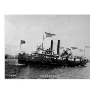 Steamer City of Ohio - Louis Pesha Photo Post Cards