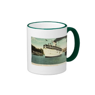 Steamer City of South Haven Great Lakes Ringer Coffee Mug
