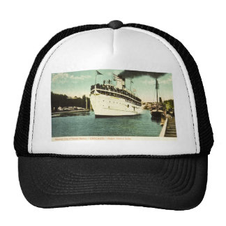 Steamer City of South Haven Great Lakes Trucker Hat
