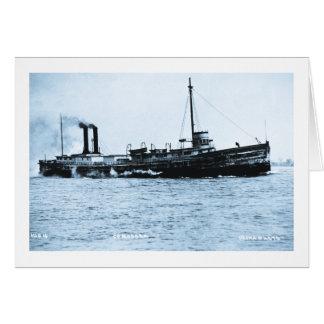 Steamer Comodore - Louis Pesha Photo Card