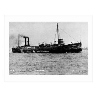 Steamer Comodore - Louis Pesha Photo Postcard