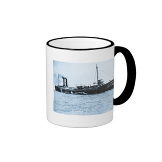 Steamer Comodore - Louis Pesha Photo Ringer Mug