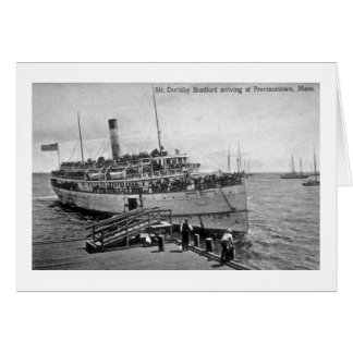 Steamer Dorothy Bradford, Provincetown, Mass. Card