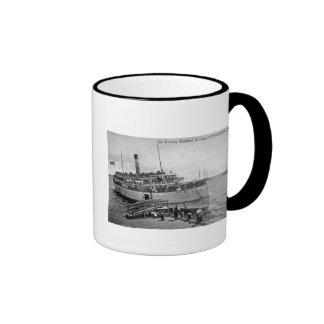 Steamer Dorothy Bradford, Provincetown, Mass. Ringer Mug
