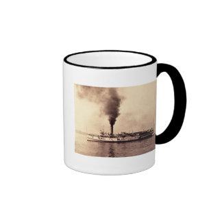 Steamer Frank E. Kirby - Louis Pesha Coffee Mugs
