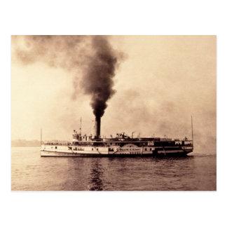 Steamer Frank E. Kirby - Louis Pesha Postcard