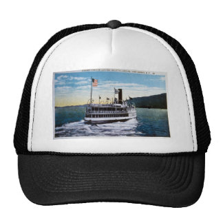 "Steamer ""Horicon"", Lake George, New York Trucker Hat"