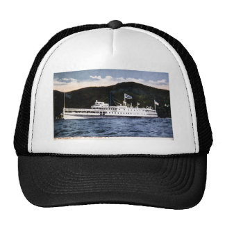 "Steamer ""Horicon"" on Lake George, New York Trucker Hat"