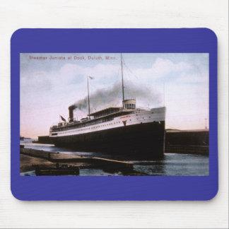Steamer Juniata at Dock, Duluth, Minnesota Mouse Pad