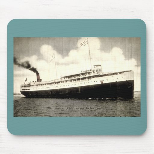 Steamer Juniata of the Anchor Line Mouse Pad