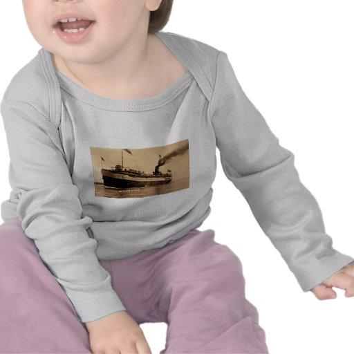 Steamer Ocotorara on St. Clair River - Louis Pesha T Shirts