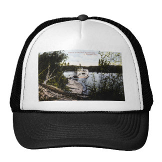 Steamer on River Saskatchewan, Edmonton, Alta. Trucker Hat