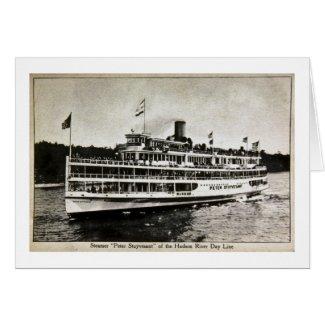Steamer Peter Stuyvesant - Vintage Postcard card