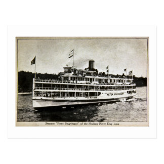 Steamer Peter Stuyvesant - Vintage Postcard