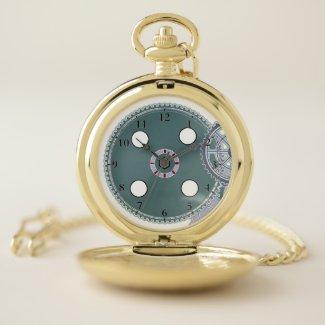 Steamer Pocket Watch