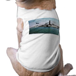 Steamer Ticonderoga on Lake Champlain Pet Shirt