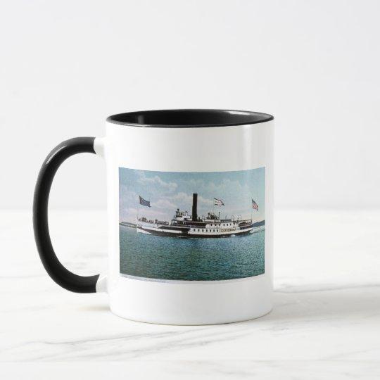 Steamer Ticonderoga on Lake Champlain Mug