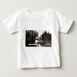Steamer Topinabee at Devil's Elbow, Michigan Baby T-Shirt