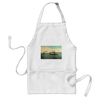 Steamers Favorite and Manatee, Tamba Bay, FLA Adult Apron