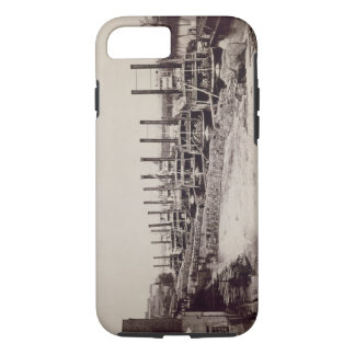 Steamers on the Mississippi (b/w photo) iPhone 8/7 Case