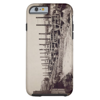 Steamers on the Mississippi (b/w photo) Tough iPhone 6 Case