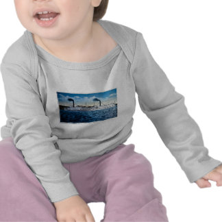 Steamers Ticonderoga and Vermont, Burlington, VT T-shirts
