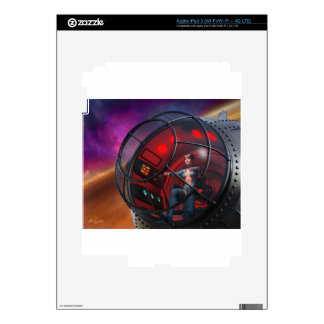 Steamfish Pilot Decals For iPad 3