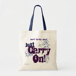 Steamgear Quote Tote Blue