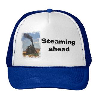 Steaming ahead trucker hat