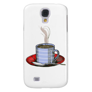 Steaming Cup of Coffee Samsung Galaxy S4 Cover