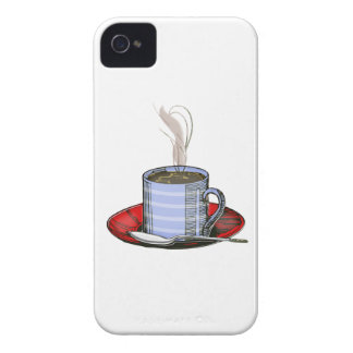 Steaming Cup of Coffee iPhone 4 Cases