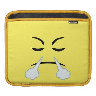 Steaming Emoji Sleeves For iPads