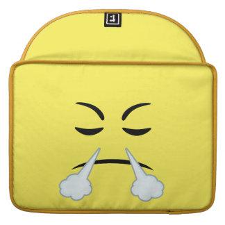 Steaming Emoji Sleeves For MacBooks