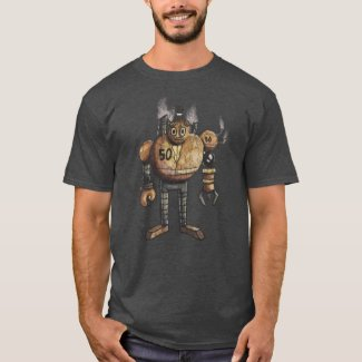 Steam'n Robot T-Shirt