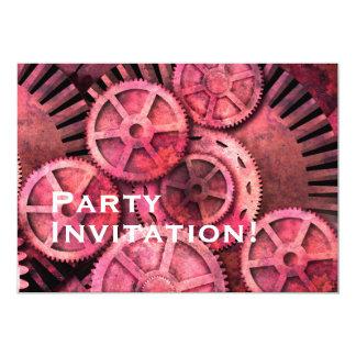 Steampink Pink Steampunk Card