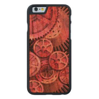 Steampink - Pink Steampunk Carved Cherry iPhone 6 Slim Case