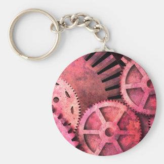Steampink Pink Steampunk Key Chains