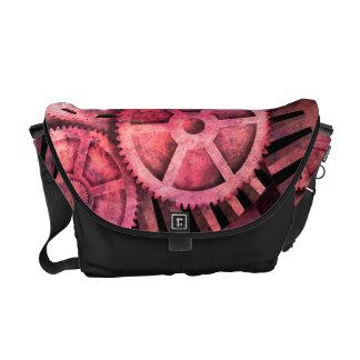 Steampink Pink Steampunk Messenger Bag
