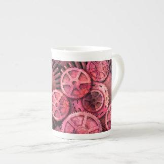 Steampink Pink Steampunk Tea Cup