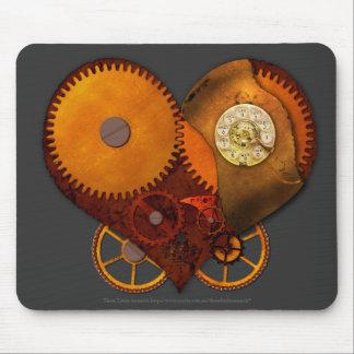 SteamPoly Mousepad - corazón del mecanismo Alfombrilla De Ratón